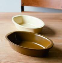 手付きグラタン皿