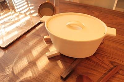 無垢材鍋敷き