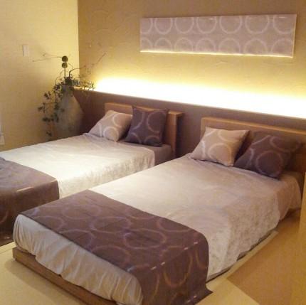 桃園主寝室