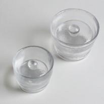 ガラス浅漬け鉢